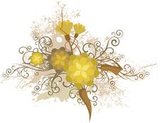 Free Floral Design Series Royalty Free Stock Images - 4462289