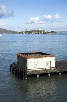 Free Alcatraz Island Royalty Free Stock Photos - 4462318