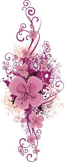 Free Floral Design Series Stock Photo - 4462370