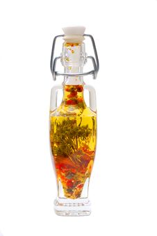 Free Decorative Bottle With Spices Stock Images - 4462404