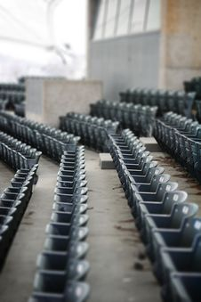 Free Empty Stands Royalty Free Stock Photography - 4462557