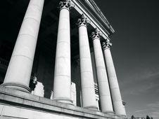 Free Washington State Capitol. Columns Stock Image - 4462731