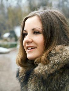 Free Girl In Fur Stock Photos - 4463143