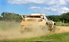 Free Car In Competition In Rally Royalty Free Stock Photo - 4463345