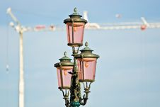 Free Street Lamp, Venice. Royalty Free Stock Images - 4463479