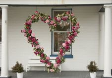 Love Wreath Royalty Free Stock Images