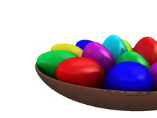 Free Easter Eggs Royalty Free Stock Photo - 4464545