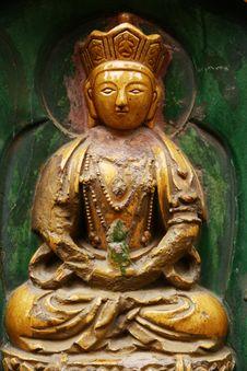 Free Figure Of Buddha Royalty Free Stock Photography - 4464877