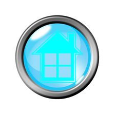 Home Button Royalty Free Stock Image