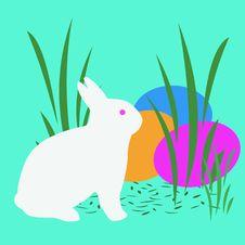 Free Easter Bunny Art Royalty Free Stock Photos - 4465508