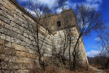 Free A Turret Of The Great Wall On Jiankou Stock Photo - 4465890