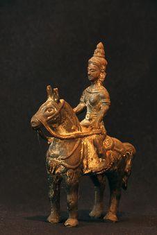 Free Chinese Warrior Royalty Free Stock Photo - 4466345