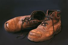 Free Old Boots 2 Stock Photos - 4466593