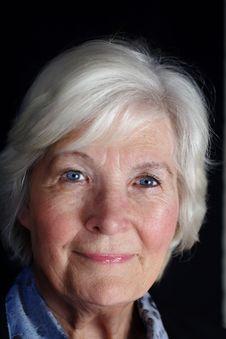 Free Senior Woman Portrait Stock Photos - 4466863