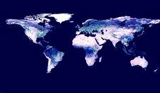 Free World Map Royalty Free Stock Photos - 4468758