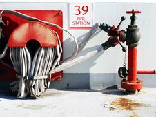 Fire Station Stock Images