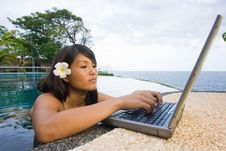 Free Work Anywhere In Paradise Stock Photos - 4468973