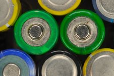 Free Batteries No.1 Stock Photography - 4469622