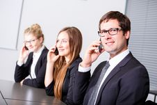 Communications In Business Stock Photos