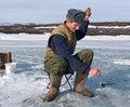 Free Winter Fishing 13 Royalty Free Stock Photos - 4474658
