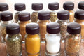 Free Variety Of Spices In Bottles Stock Photos - 4475213