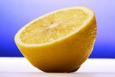 Free Half Of Lemon Stock Photo - 4470570