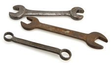 Free Vintage Wrenches Stock Images - 4471824