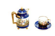 China Porcelain Service. Stock Photography