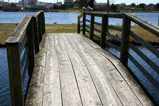 Free Wood Bridge Stock Photos - 4472273