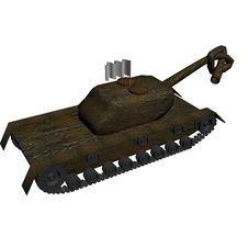 Free Harmless Tank. 3D Image. Royalty Free Stock Photo - 4472465