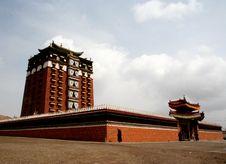 Free Milarepa Lhakhang Royalty Free Stock Photo - 4473155