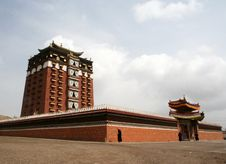 Free Milarepa Lhakhang Royalty Free Stock Photo - 4473175