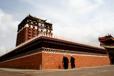 Free Milarepa Lhakhang Royalty Free Stock Images - 4473199