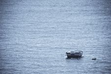Free Lone Boat Stock Images - 4473204