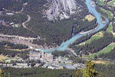Free Bow River, Alberta Canada Royalty Free Stock Image - 4473976