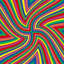 Free Rainbow Swirl Lines Stock Photo - 4474020