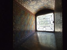 Free Church Window With Mosaic Stock Images - 4474324