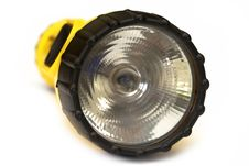 Free Yellow And Black Flashlight Royalty Free Stock Photography - 4474387