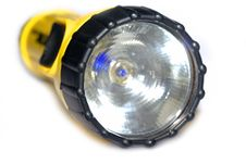 Free Yellow And Black Flashlight Royalty Free Stock Images - 4474389