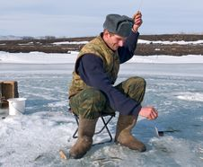Free Winter Fishing 13 Royalty Free Stock Photos - 4474658