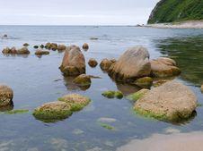 Stones And Sea 1 Royalty Free Stock Photo