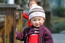 Free Little Boy With Lovely Smile Stock Photography - 4476132