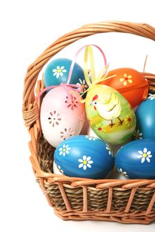 Free Easter Basket Royalty Free Stock Images - 4476249