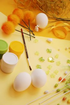 Free Easter Decorations Royalty Free Stock Images - 4476259