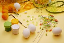 Free Easter Decorations Stock Photography - 4476362