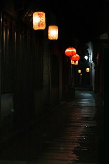 Free Zhouzhuang Royalty Free Stock Photos - 4476468