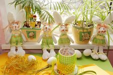 Free Easter Decorations Royalty Free Stock Photos - 4476528