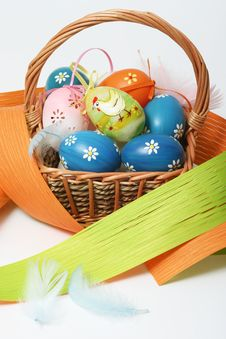 Free Easter Basket Stock Photography - 4476662