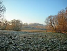 Winter Field Royalty Free Stock Photos