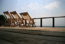 Free Three Chairs Stock Image - 4476811